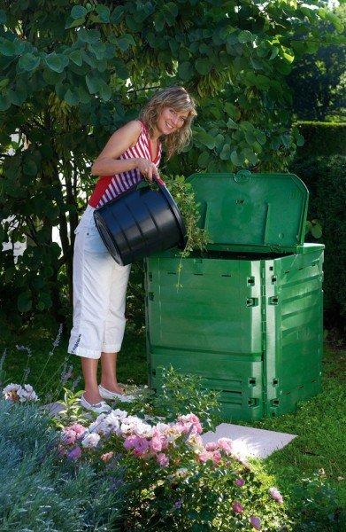 Komposter 600 Liter Garantia Thermo King grün