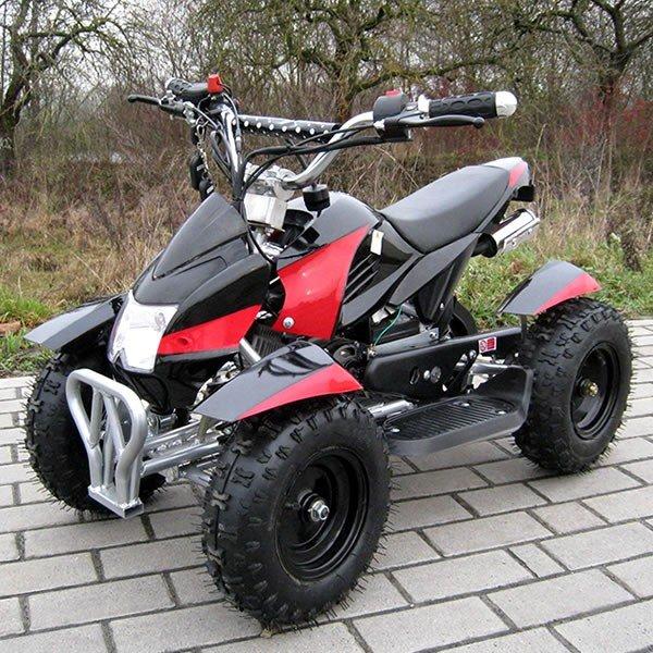 Quad 49cc Cobra schwarz-rot