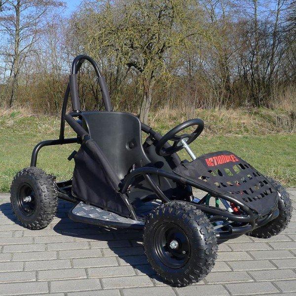 mini gokart buggy 80cc schwarz lineup24. Black Bedroom Furniture Sets. Home Design Ideas