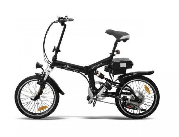 """20"""" Elektro-Bike E-GO! Quickline Q1 Klapprad schwarz"""