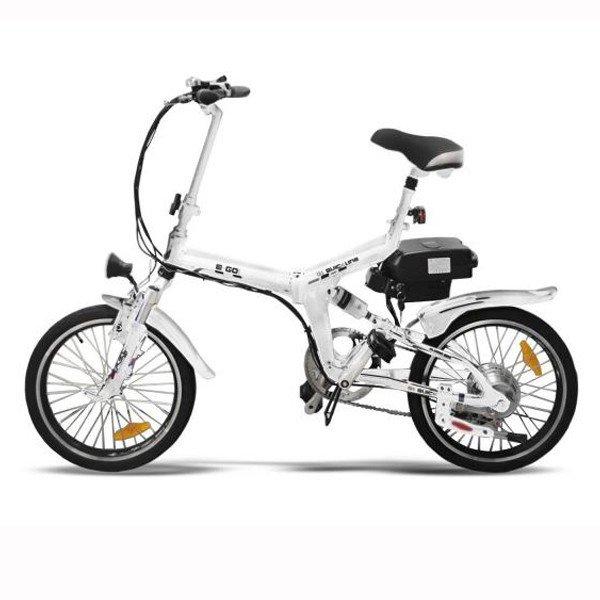 "20"" Elektro-Bike E-GO! Quickline Q1 Klapprad weiß"