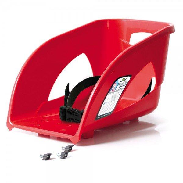 Schlitten Lehne Sitz Seat1 rot