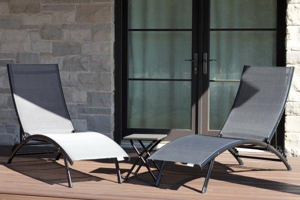 Sonnenliege Vivere Midtown Lounge 3er Set
