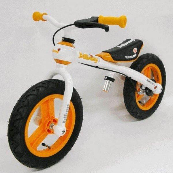 "Kinder Laufrad 12"" JD BUG Loopfiets orange"