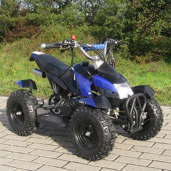 Quad 49cc Cobra schwarz-blau