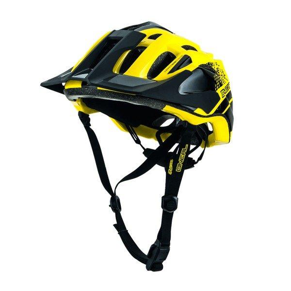 O'Neal Fahrradhelm Q Helmet schwarz-gelb
