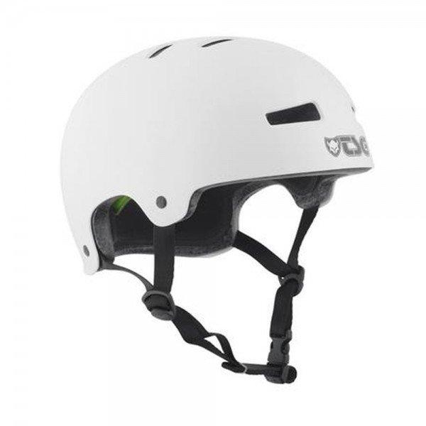 TSG Helmet EVOLUTION Solid Colors injected-white