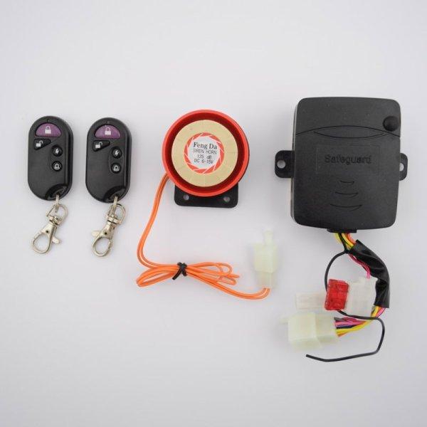 Alarmanlage mit Fernbedienung für ATV Quad Motorrad 12V 125 dB N8