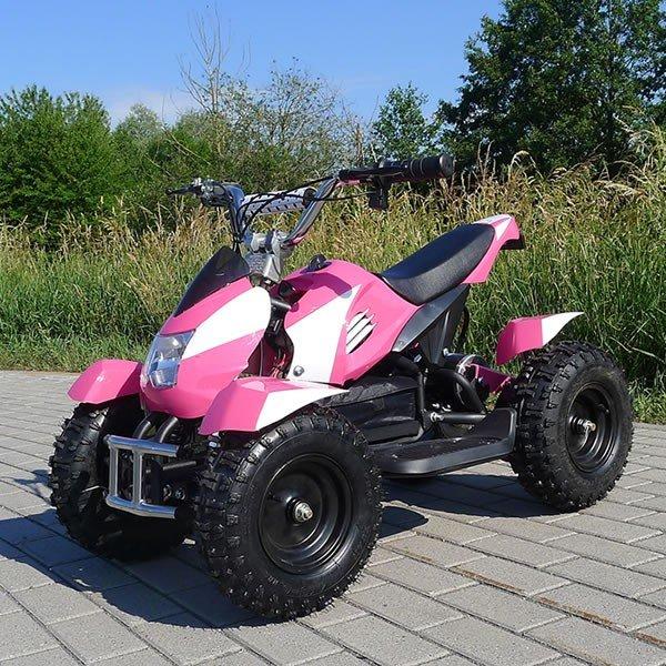 E-QUAD 800W Sport Cobra pink/weiß