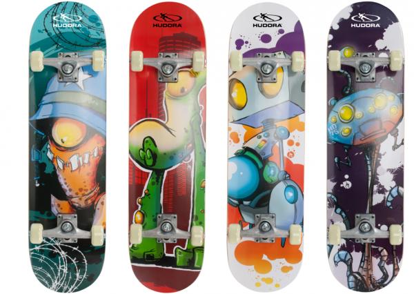 HUDORA Skateboard INSTINCT ABEC 1