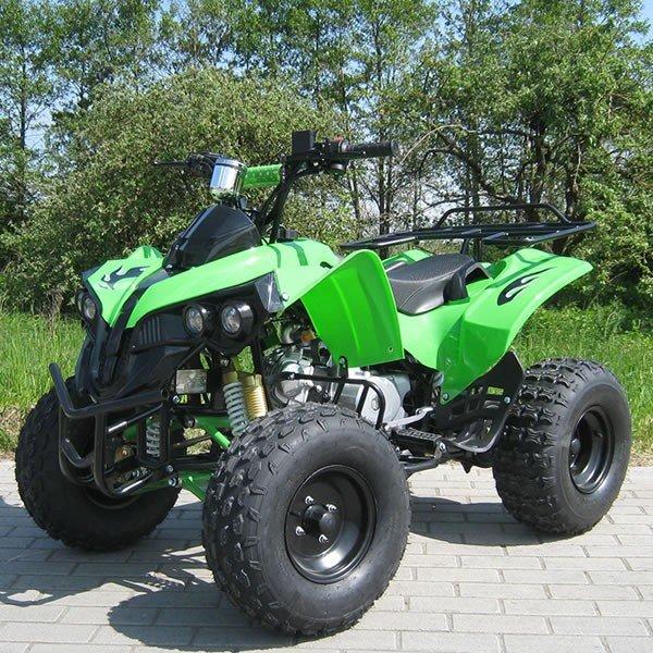 Quad 125cc S-10 Streethummer grün