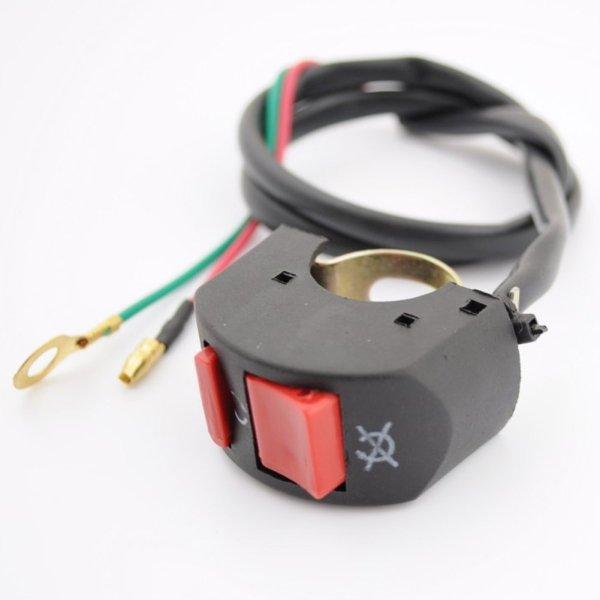 Killswitch Notausschalter Schalter Ein- Ausschalter 49cc Dirtbike Pocketbike Miniquad ATV N16 P