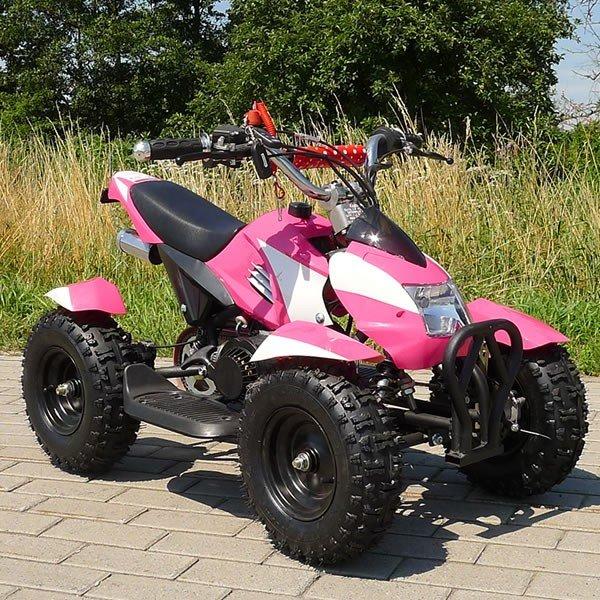 Quad 49cc Cobra pink-weiß