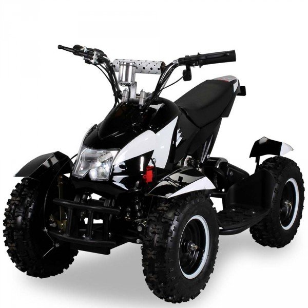 E-QUAD 800W Sport Cobra schwarz/weiß