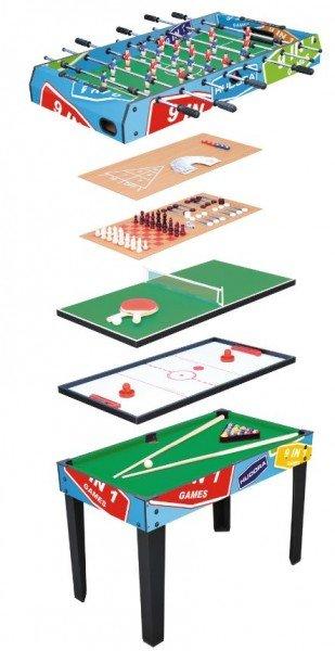 HUDORA Spieltisch Multifunktion 9 in 1