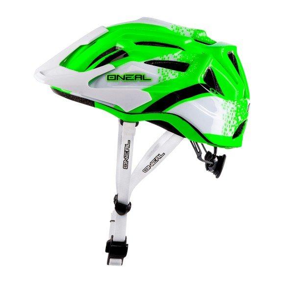 O'Neal Fahrradhelm Q Helmet weiß-grün