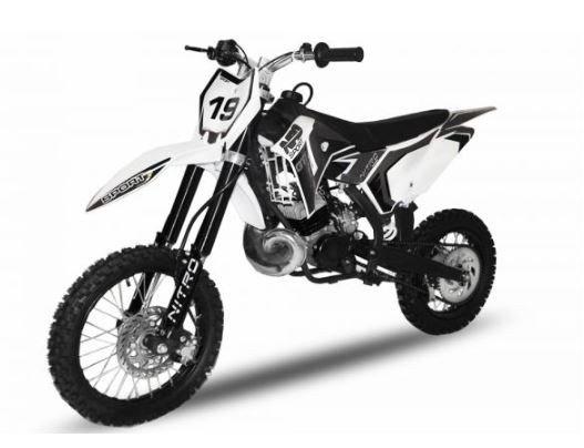 50cc Dirtbike NRG50 14/12 GTS verschiedene Farben