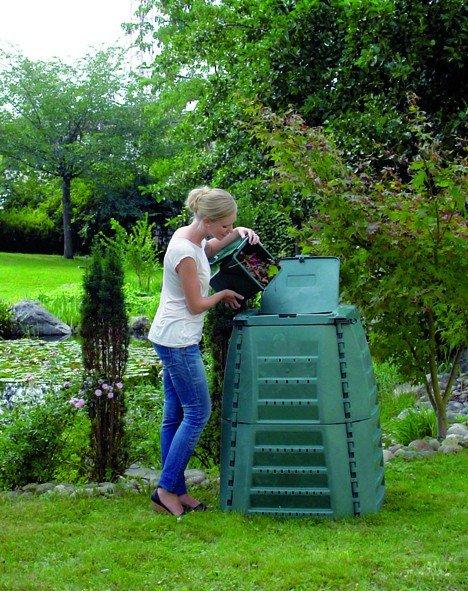 Komposter 600 Liter Garantia Thermo Star grün