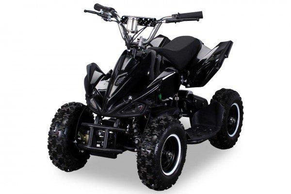 Elektro Quad Miniquad Kinder Atv Racer 800 Watt Pocketquad Kinderquad schwarz