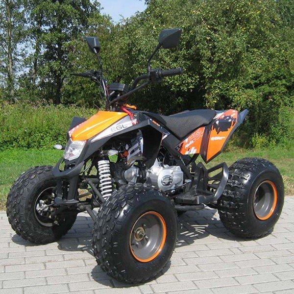 QUAD 50cc MADDEX schwarz mit Strassenzulassung
