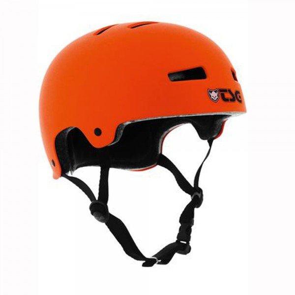 TSG Helmet EVOLUTION Solid Color neon-flat-orange