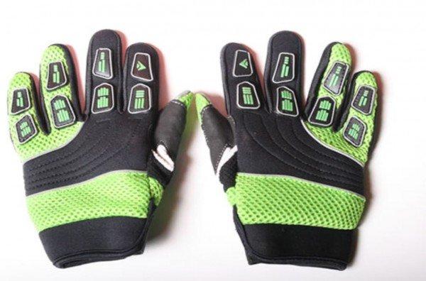 Motocross Handschuhe Cross Handschuhe für Erwachsene aus Nylon grün