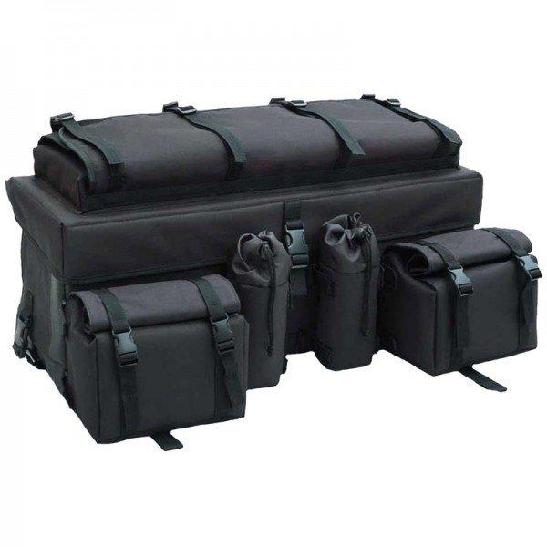 ATV / Quad Gepäckträger-Koffer schwarz