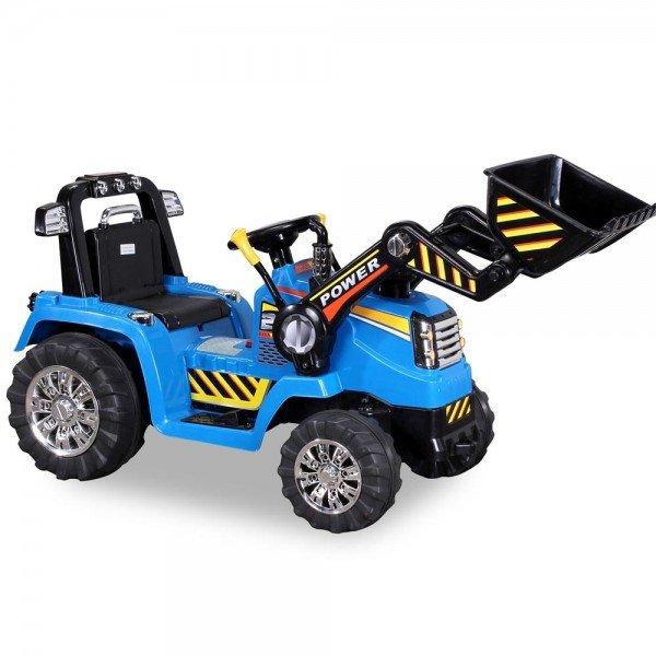 Kinder Elektro Bagger ZP10005 blau
