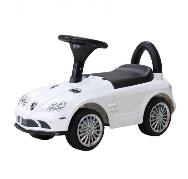 Kinder Rutschauto Mercedes SLR weiß lizenziert