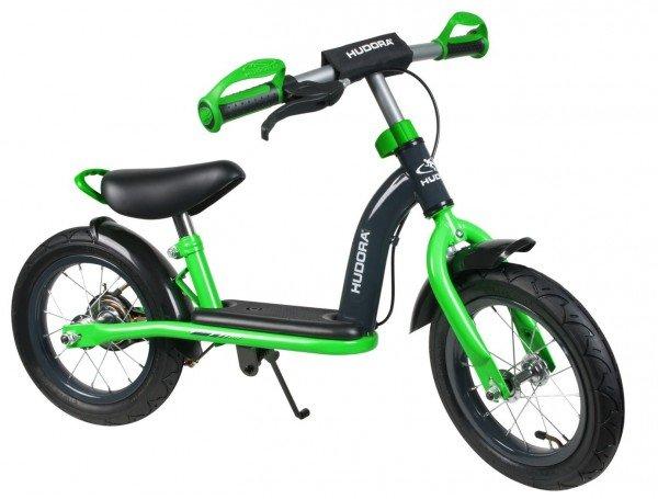 """HUDORA Kinder Laufrad Cruiser Boy, 12"""", grün/schwarz"""
