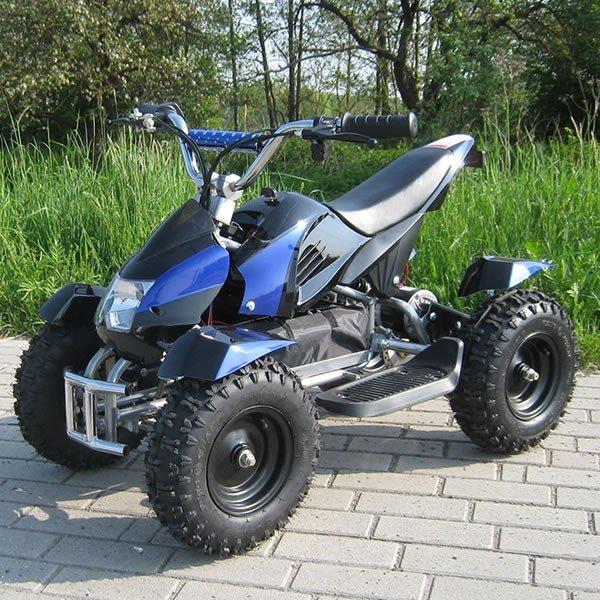 E-QUAD 800W Sport Cobra schwarz/blau