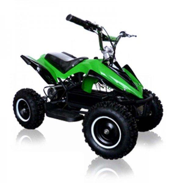 Elektro Quad Miniquad Kinder Atv Racer 800 Watt Pocketquad Kinderquad grün/schwarz