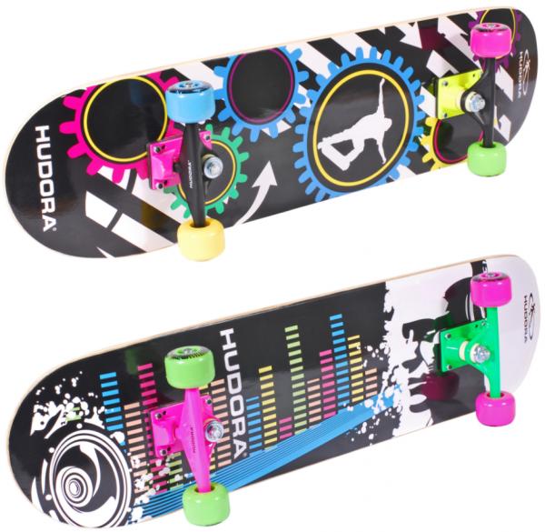 HUDORA Skateboard NEON ABEC 1