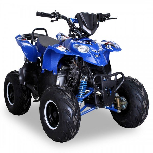 Quad 125cc S-5 blau Miniquad ATV Kinderquad Pocketquad Pocketbike Kinderquad