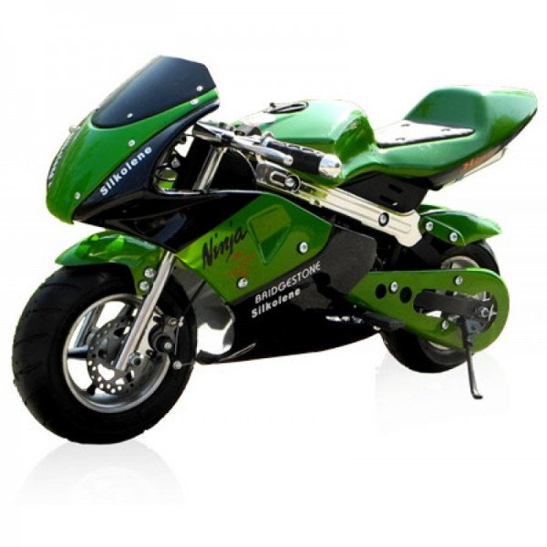 POCKET BIKE 49cc Racing / Farbe: Schwarz/grün