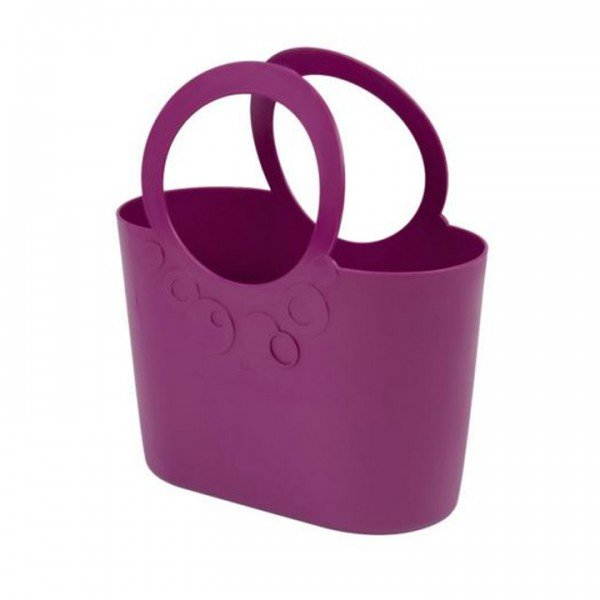 Mehrzweck Plastik Tasche LILY fuchsia lila