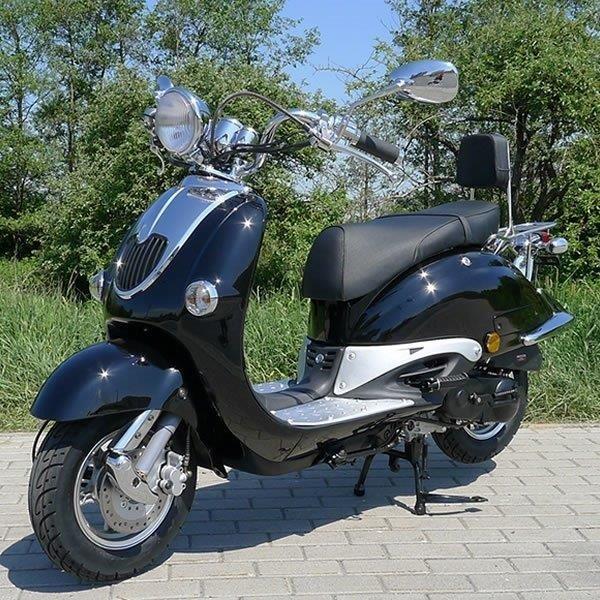 Fahrzeug-Aufbau: 50cc Motorroller