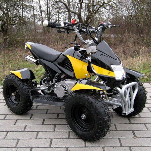 Quad 49cc Cobra schwarz-gelb