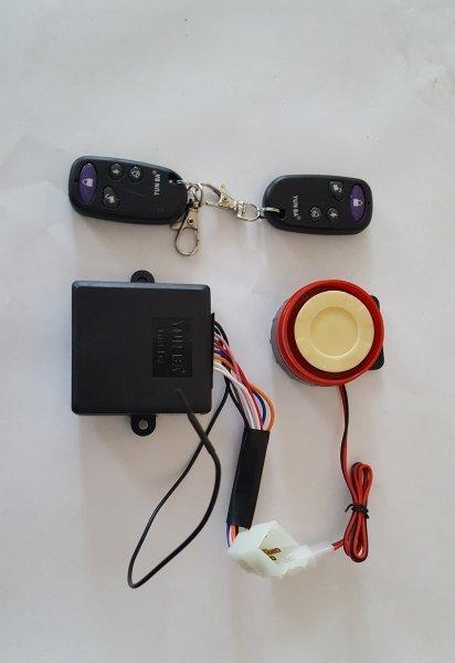 Alarmanlage mit Fernbedienung für ATV Quad Motorrad 12V N10