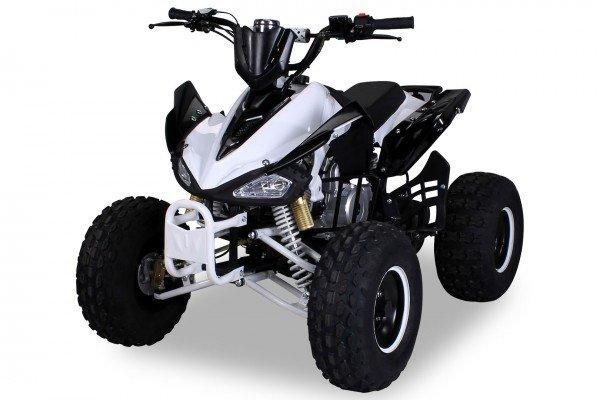 Quad 125cc Panthera S-14 weiß/schwarz