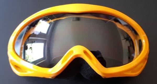 Racingbrille gelb