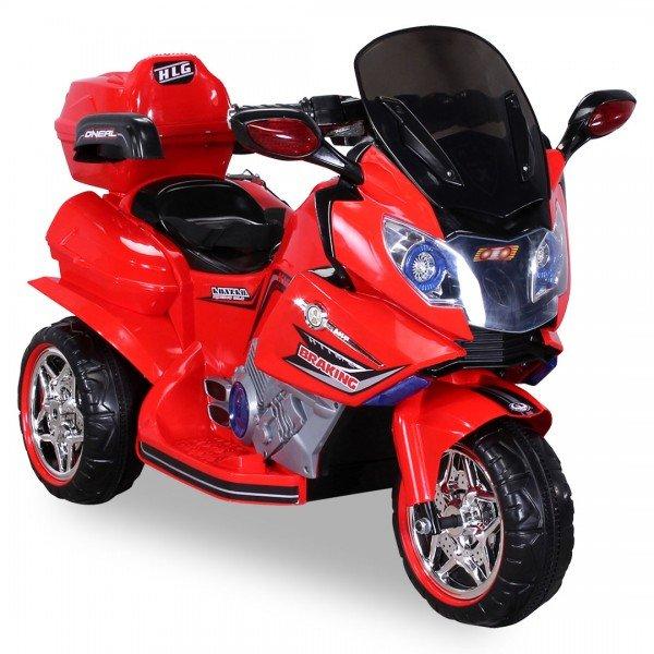 Kinder Elektroauto Motorrad JT188 rot
