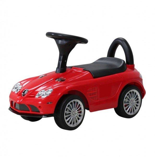 Kinder Rutschauto Mercedes SLR rot lizenziert