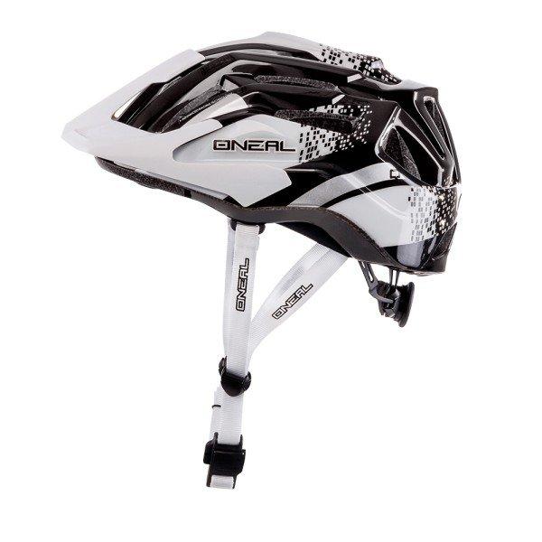 O'Neal Fahrradhelm Q Helmet weiß-schwarz