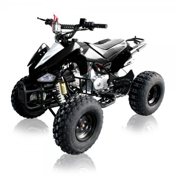 Quad 110cc Panthera schwarz