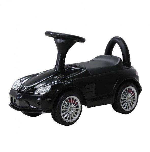 Kinder Rutschauto Mercedes SLR schwarz lizenziert