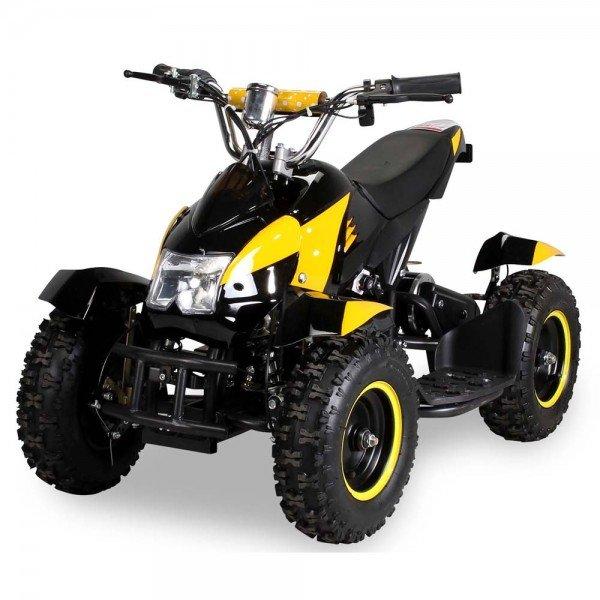 E-QUAD 800W Sport Cobra schwarz/gelb