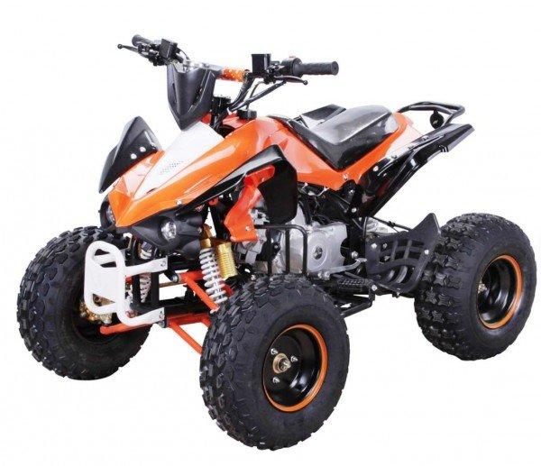 Motocross Kinderhandschuhe Cross Handschuhe für Kinder aus Nylon orange