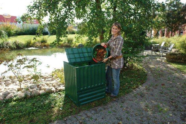 Komposter 400 Liter Garantia ECO King grün