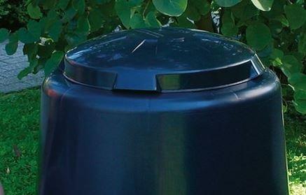 Deckel für GARANTIA ECO-Komposter schwarz